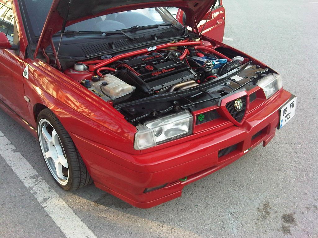 demir 39 s red car 1996 alfa romeo 155 q4 berlinasportivo italian sports saloons. Black Bedroom Furniture Sets. Home Design Ideas
