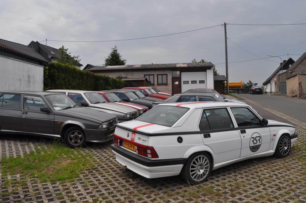 Alfa Romeo 75 Track Day car performance upgrades